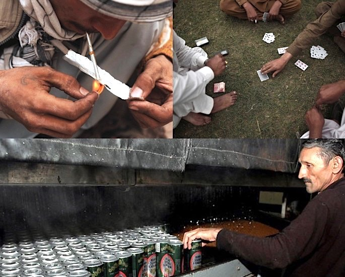 Pakistan Culture: 15 Key Areas to Learn & Know more about - Alcohol, Drugs and Gambling