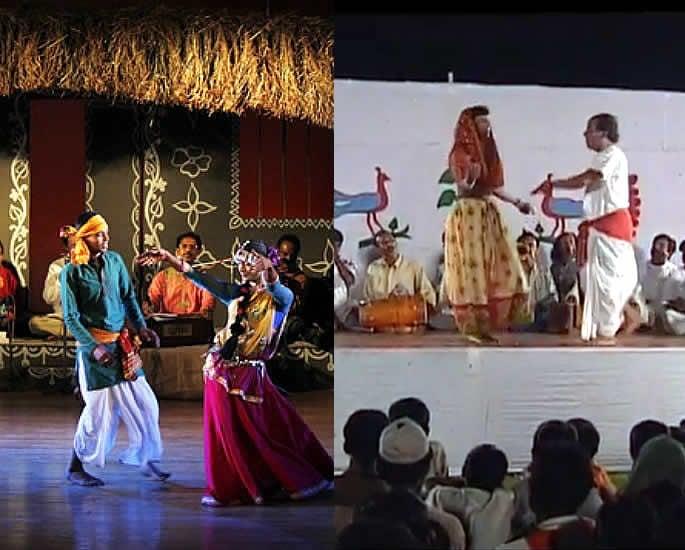 Popular Folk Dances of Bangladesh - Ghatu Dancers