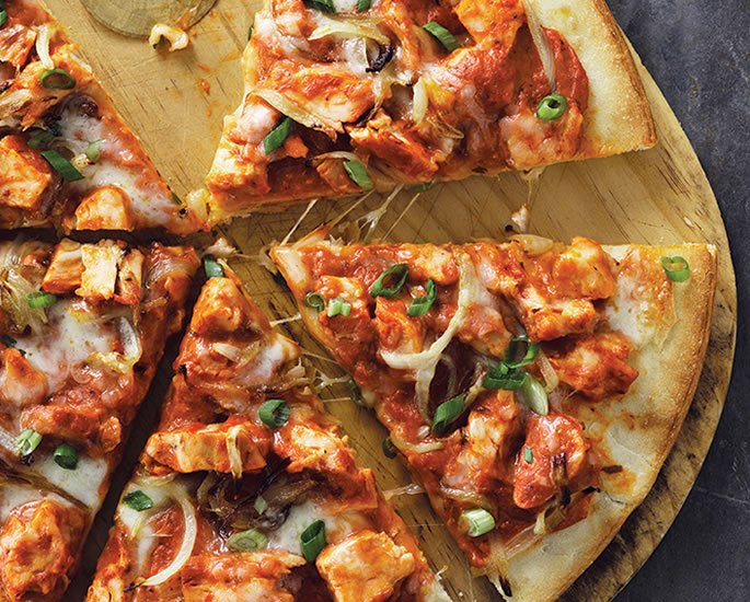 Popular World Food Recipes made with a Desi Twist - pizza