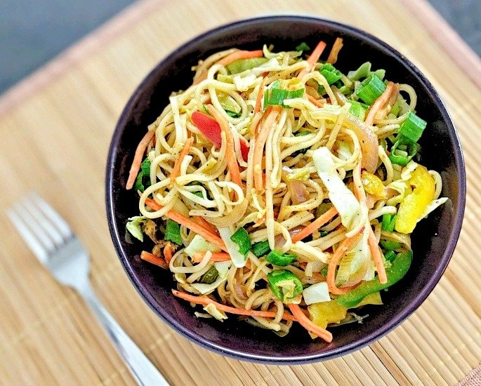 Popular World food recipes made with a Desi Twist - noodles