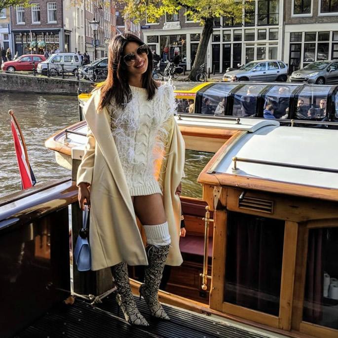 Priyanka Chopra celebrates Bachelorette in Amsterdam - celebrate