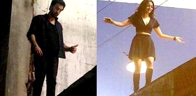Ranbir Kapoor & Alia Bhatt film crazy stunt for Brahmastra f