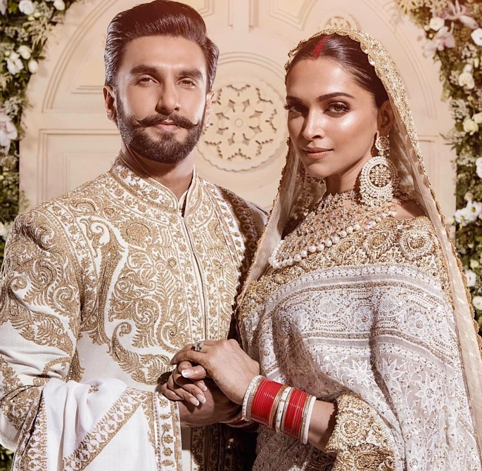 Ranveer & Deepika host Grand Mumbai Wedding Reception - portrait