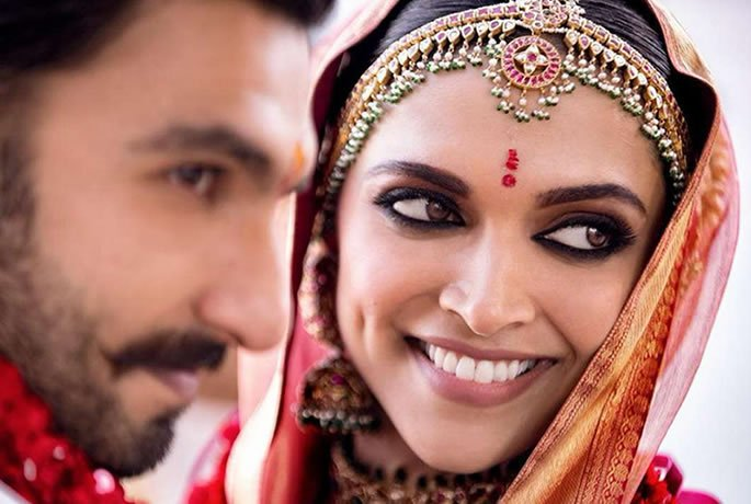 Ranveer Singh and Deepika Padukone's Wedding Highlights - couple