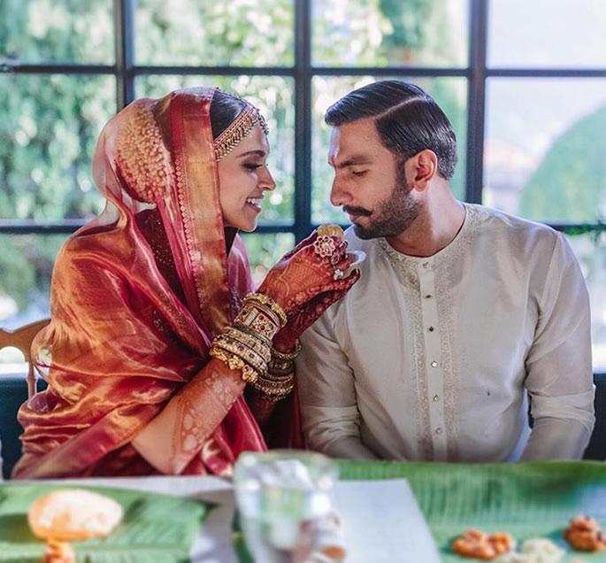 रणवीर सिंह और दीपिका पादुकोण की शादी की मुख्य विशेषताएं - भोजन