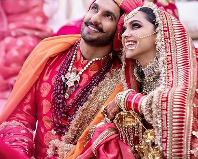 रणवीर सिंह और दीपिका पादुकोण की शादी की मुख्य विशेषताएं - प्यार