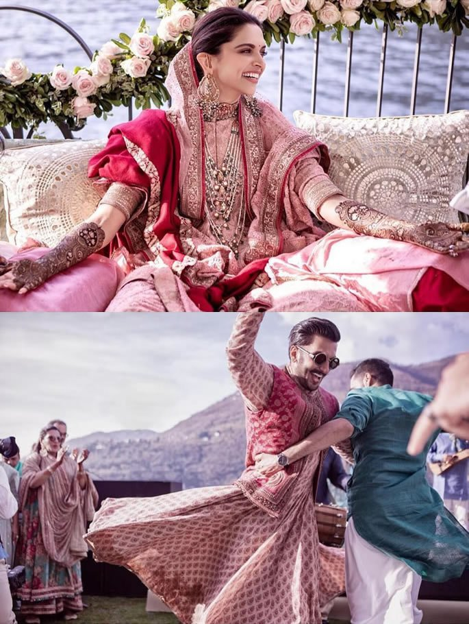 Ranveer Singh and Deepika Padukone's Wedding Highlights - mehndi dances