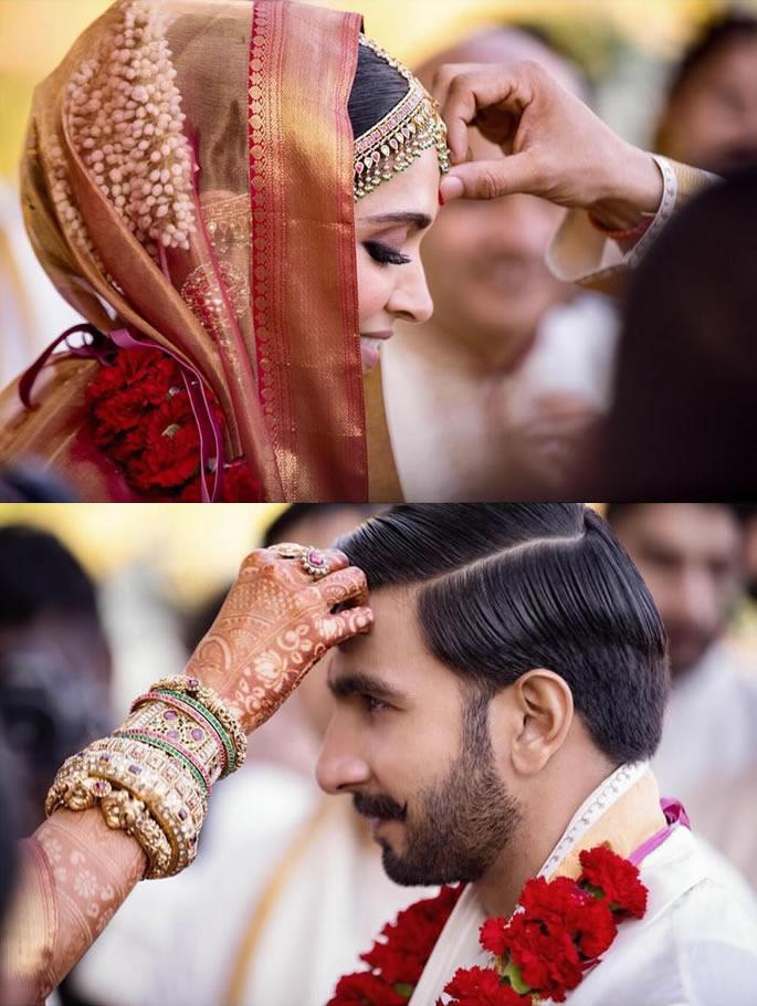 Ranveer Singh and Deepika Padukone's Wedding Highlights - rdeepika anveer tikka