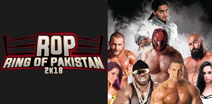Ring of Pakistan Wrestling Season 2k18: #FightForPeace f