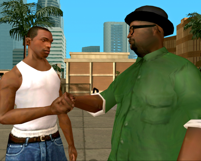 The best Grand Theft Auto games enjoyed by Brit-Asians - san andreas