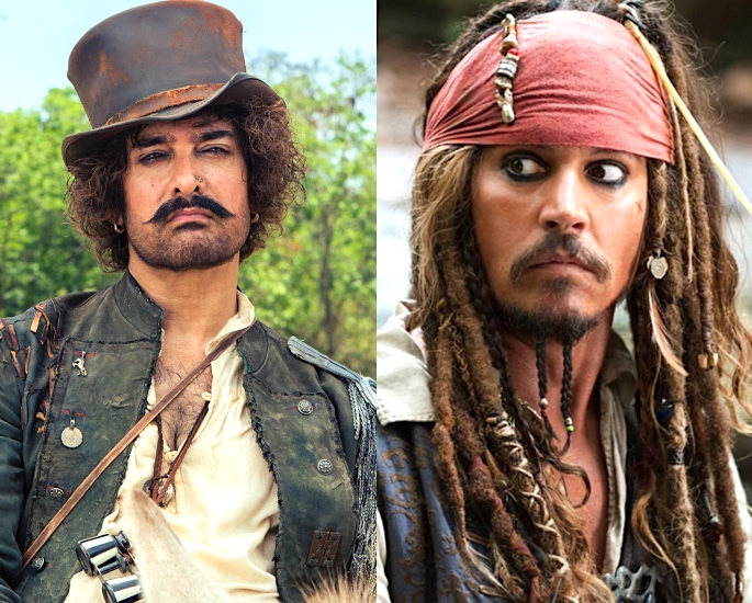 Thugs of Hindostan: Where did this Film go Wrong? - Aamir Khan Johnny Depp