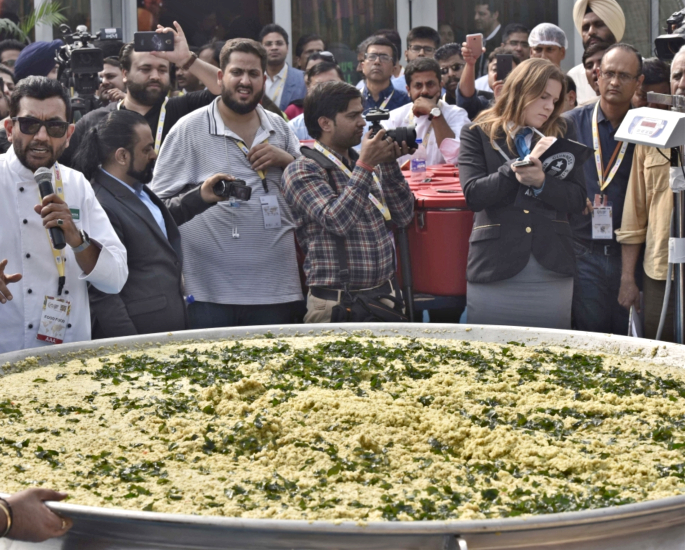 World Record Breaking Indian Foods & Drink - khichdi