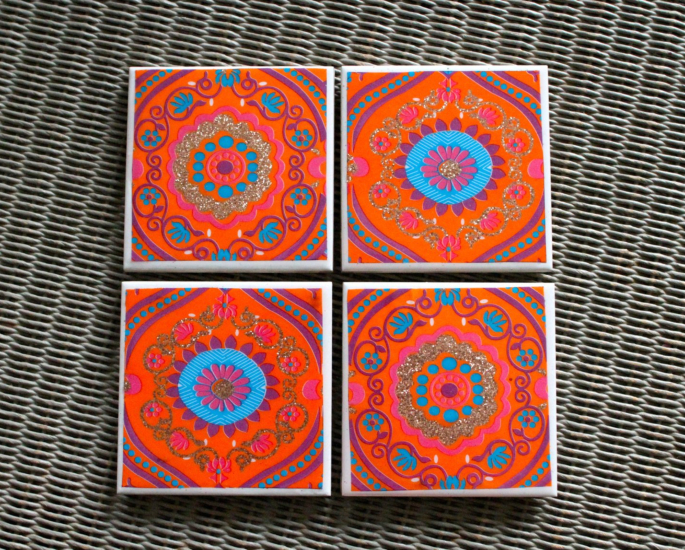 coasters 10 ways to add a desi accent to your homeware - in article