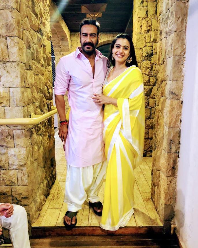 kajol and ajay devgan diwali bollywood 2018 - in article