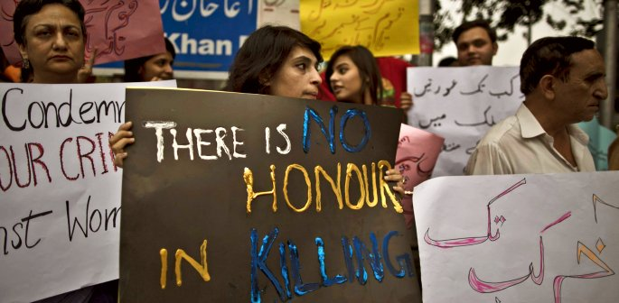 pakistan teenage sistsers honour killing by cousins f