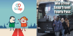 Win a Snap Travel Yearly Pass: Premier Intercity Coach On Demand