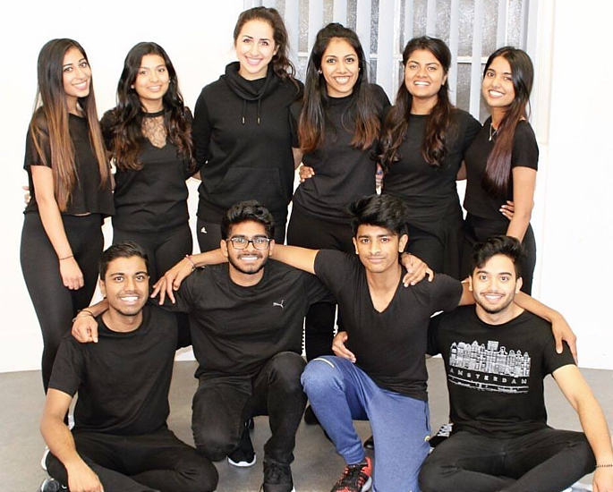 the choreographers just bollywood - in article