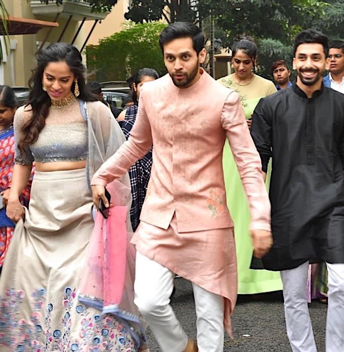 Ace Shuttlers Saina Nehwal & Parupalli Kashyap get married - Saina Nehwal Parupalli Kashyap 3
