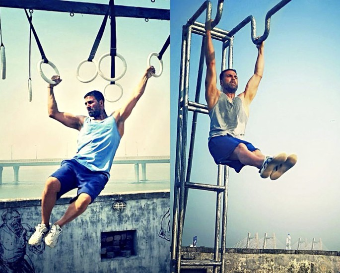 Akshay Kumar Creates Fitness Initiative with Rajyavardhan Rathore