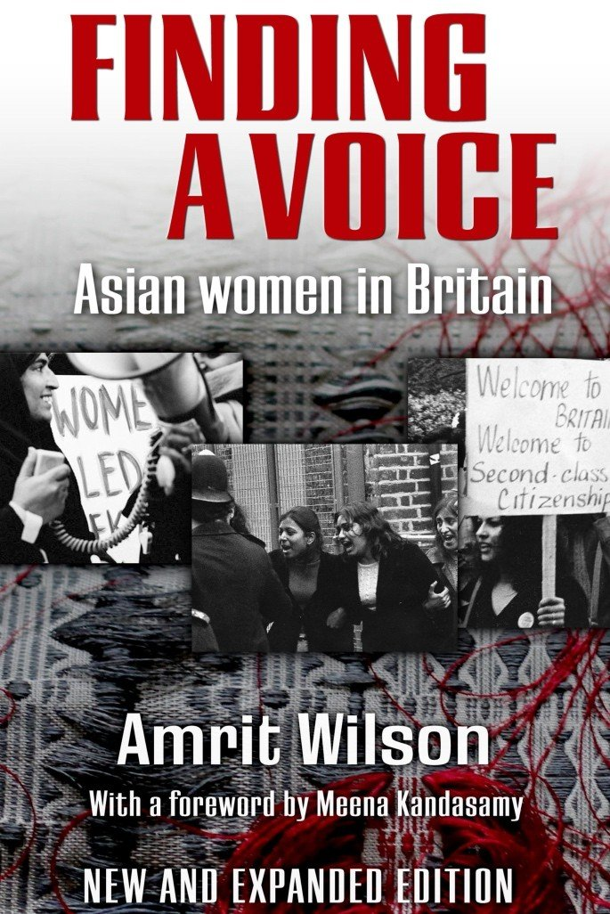 Amrit Wilson's Finding A Voice gives a platform to Asian Women - Finding A Voice book cover