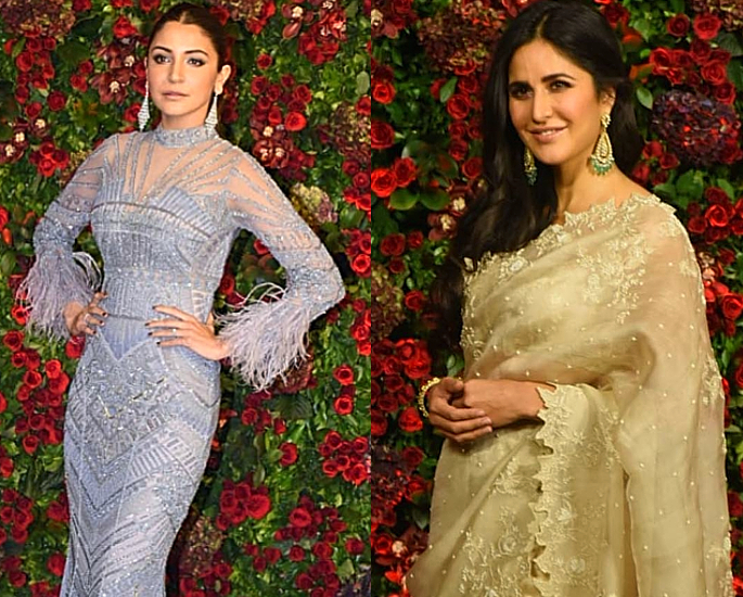 Anushka and Katrina deepveer wedding - in article