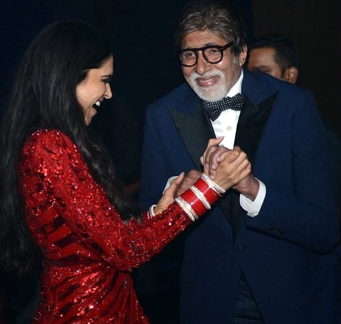 Bachchans groove at Deepika and Ranveer's Bollywood Party - AB deepika