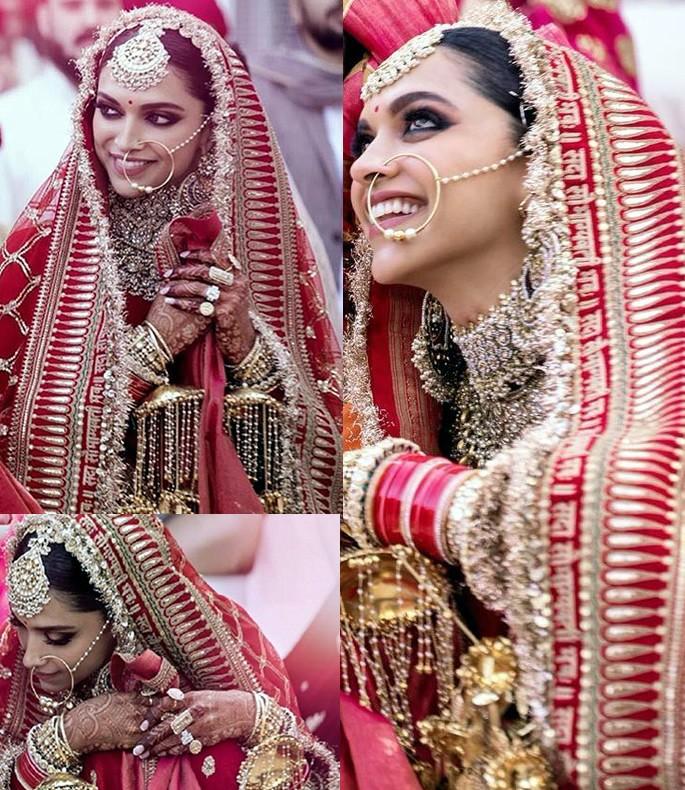 Best Bridal Looks of Sabyasachi Real-Life Brides Deepika