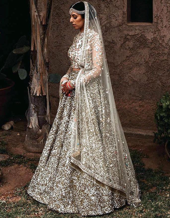 Best Bridal Looks of Sabyasachi - Real-Life Brides - Jaslene Khaira