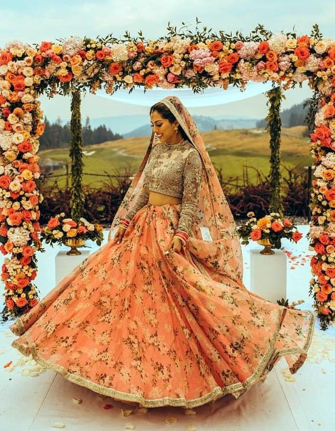 Best Bridal Looks of Sabyasachi - Real-Life Brides - Renita Ahluwalia