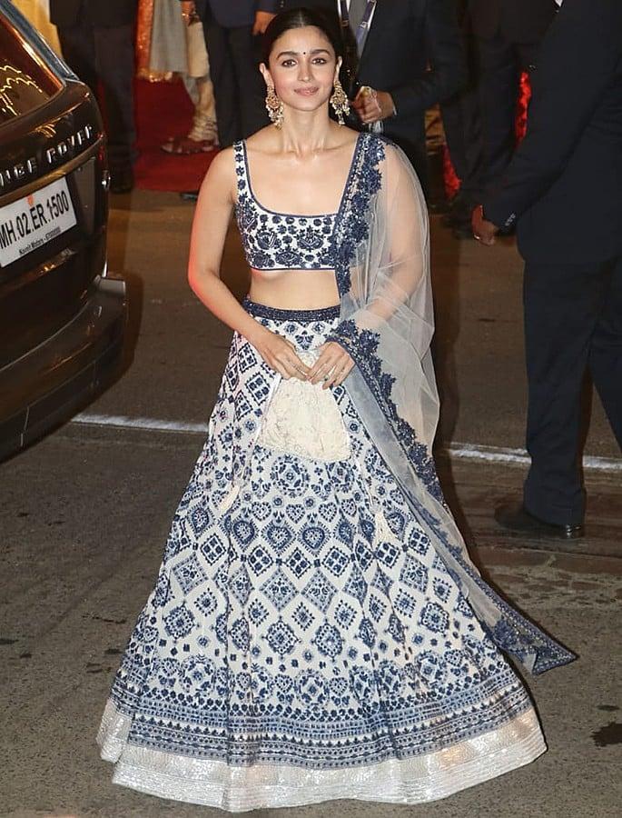 Best Dressed Celebrities at Isha Ambani & Anand Piramal Wedding - Alia
