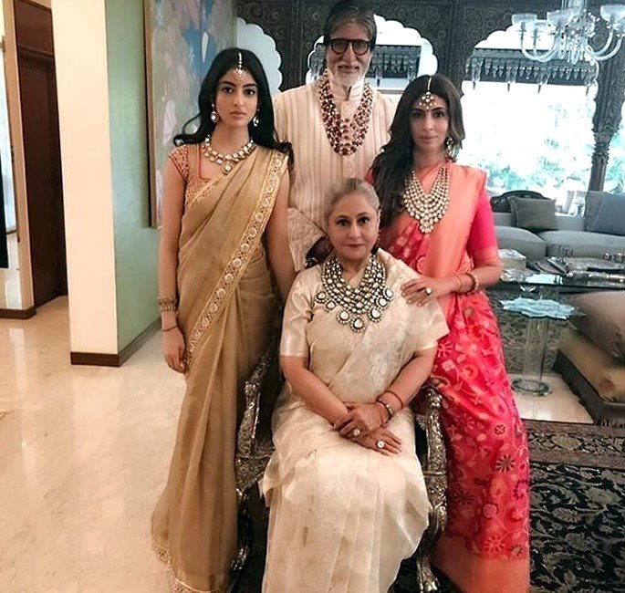 Best Dressed Celebrities at Isha Ambani & Anand Piramal Wedding - Bachchans
