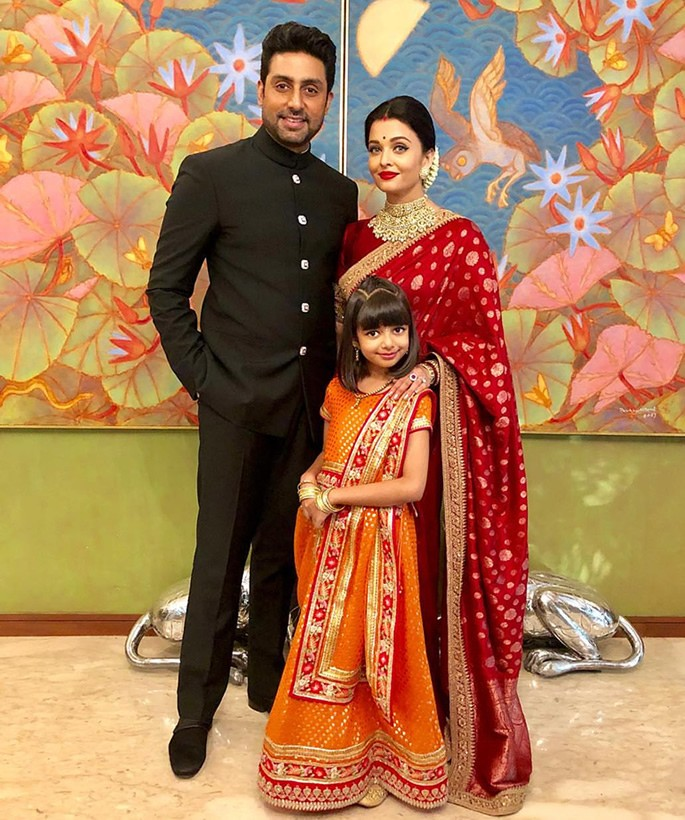 Best Dressed Celebrities at Isha Ambani & Anand Piramal Wedding - Junior Bachchans