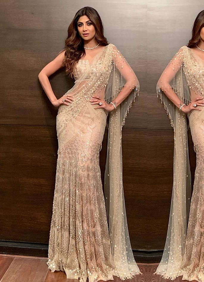 Best Dressed Celebrities at Isha Ambani & Anand Piramal Wedding -Shilpa Shetty