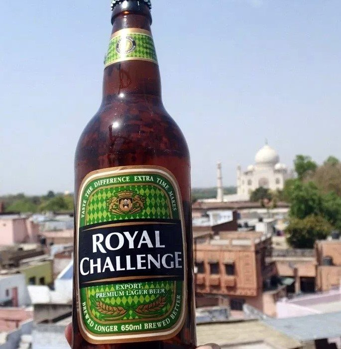 Best Indian Beers to Drink on a Trip to India - royal challenge