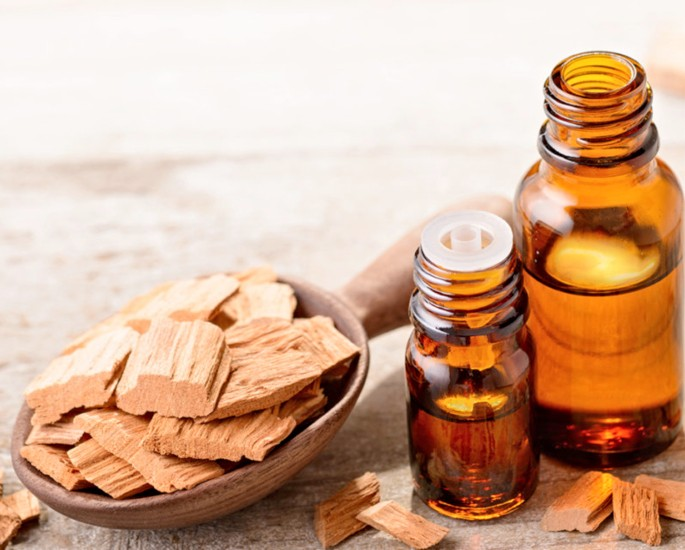 Desi Remedies to help with Headaches and Migraines - sandalwood