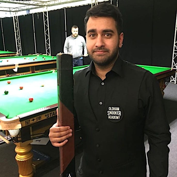 Farakh Ajaib: Snooker player with Natural Flair & Fluidity - Oldham Snooker Academy
