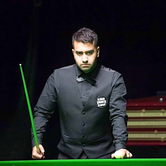 Farakh Ajaib: Snooker player with Natural Flair & Fluidity - Q school