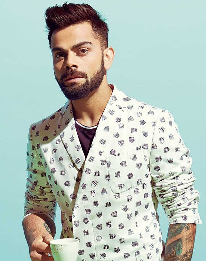 GQ India's 50 Most Influential Young Indians - Virat