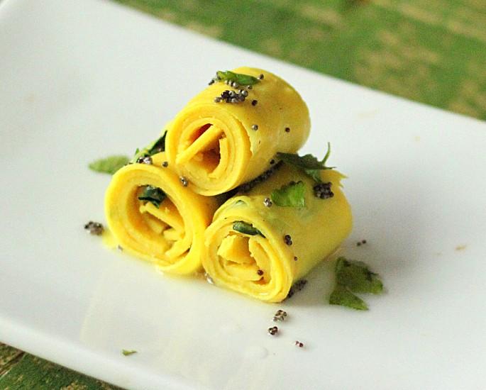 Gujarati Sweets and Savoury Snacks to Enjoy - khandvi