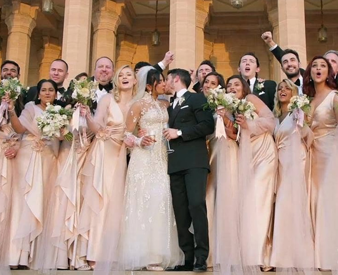 Highlights of Priyakna and Nicks Wedding in India - kiss