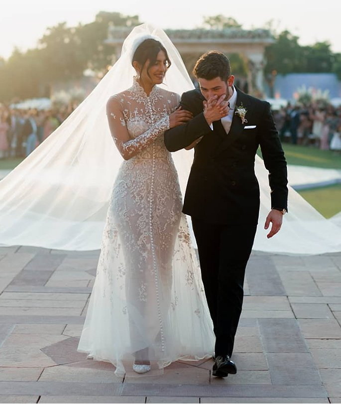 Highlights of Priyanka and Nicks Wedding in India - western