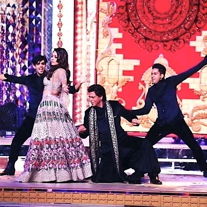 Isha Ambani Sangeet: Bollywood Stars & Beyonce perform - Shah Rukh Khan and Gauri