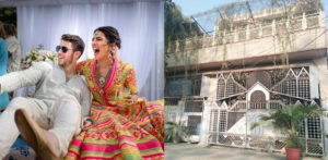 Locals Decorate Ancestral Home of Priyanka Chopra f