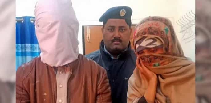 Pakistani Wife arrested for killing her Husband to Marry Lover f