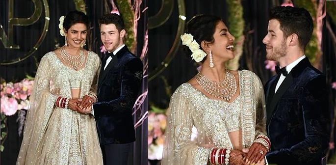 Priyanka Chopra and Nick Jonas Host Lavish Delhi Reception f