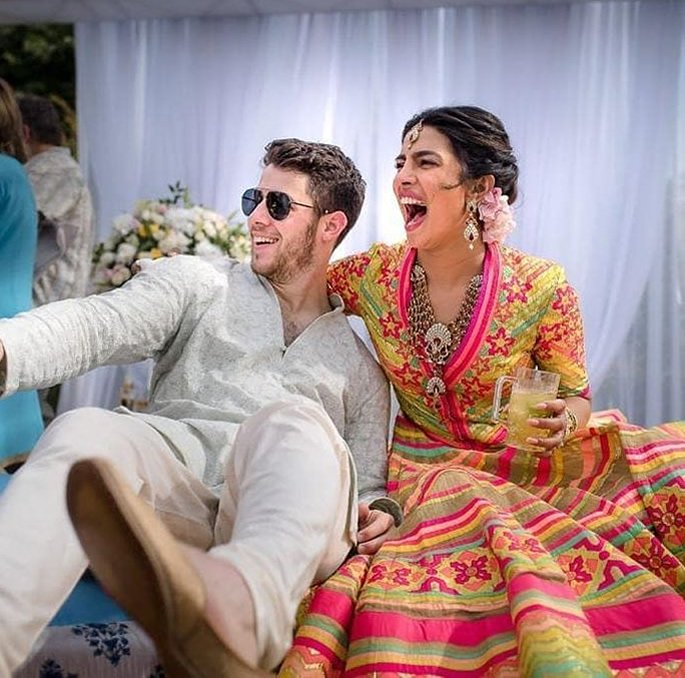Priyanka Chopra and Nick Jonas are Officially Married - sangeet