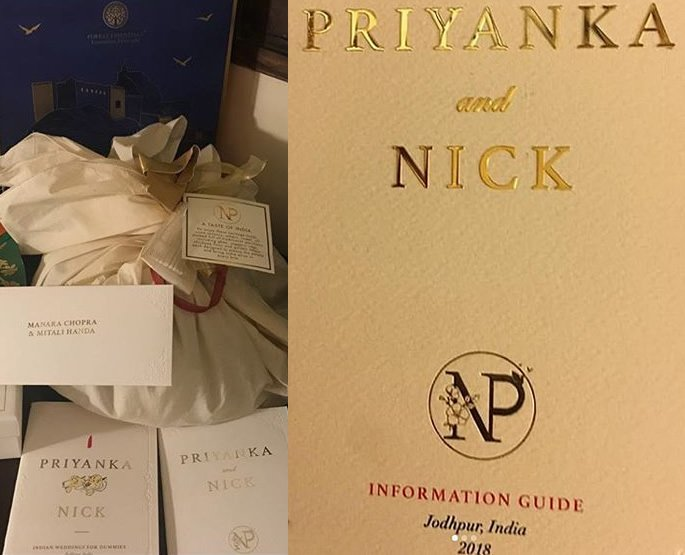 Priyanka and Nick Wedding Preparations in Full Swing - gifts