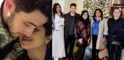 Priyanka and Nick celebrate Festive Holidays in the UK