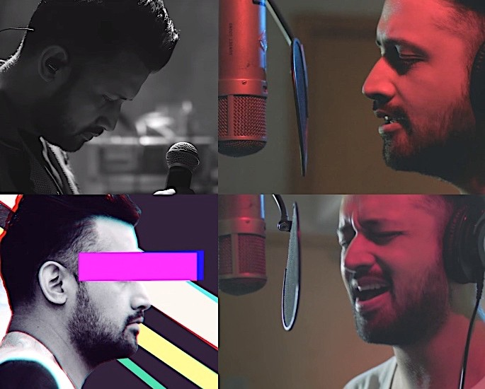Singer Atif Aslam returns with Rocking single '12 Bajay' - Atif Aslam