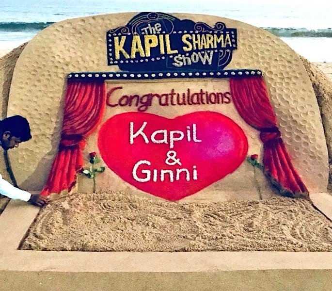 TV Comedy Star Kapil Sharma weds Ginni Chatrath - Kapil Shama Show